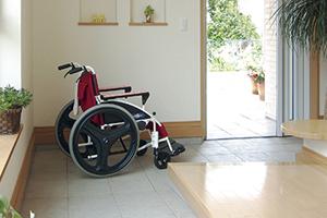 助成金による福祉住宅建築支援のイメージ